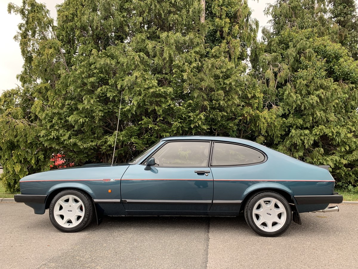 1988 Ford Capri 280 Brooklands  For Sale (picture 5 of 6)