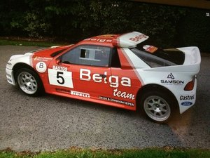 1986 Ford rs200 cosworth rep belga racing must see px For Sale