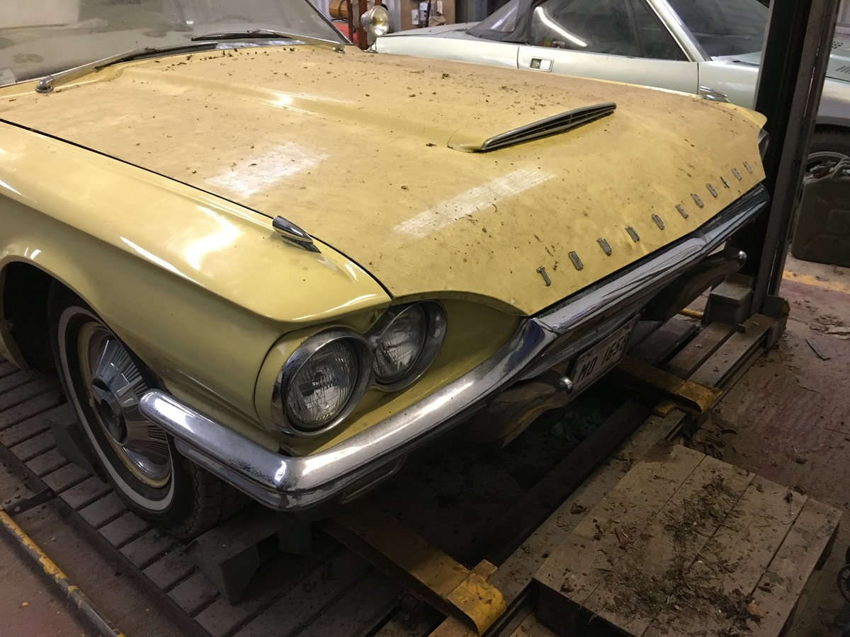 1964 ford thunderbird 390 convertible barn stored. For Sale (picture 2 of 6)