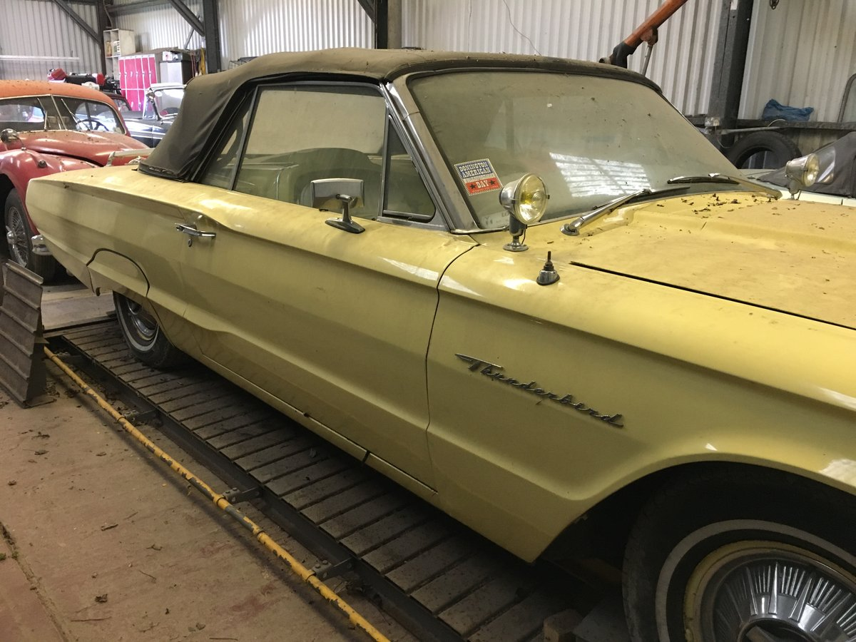 1964 ford thunderbird 390 convertible barn stored. For Sale (picture 3 of 6)