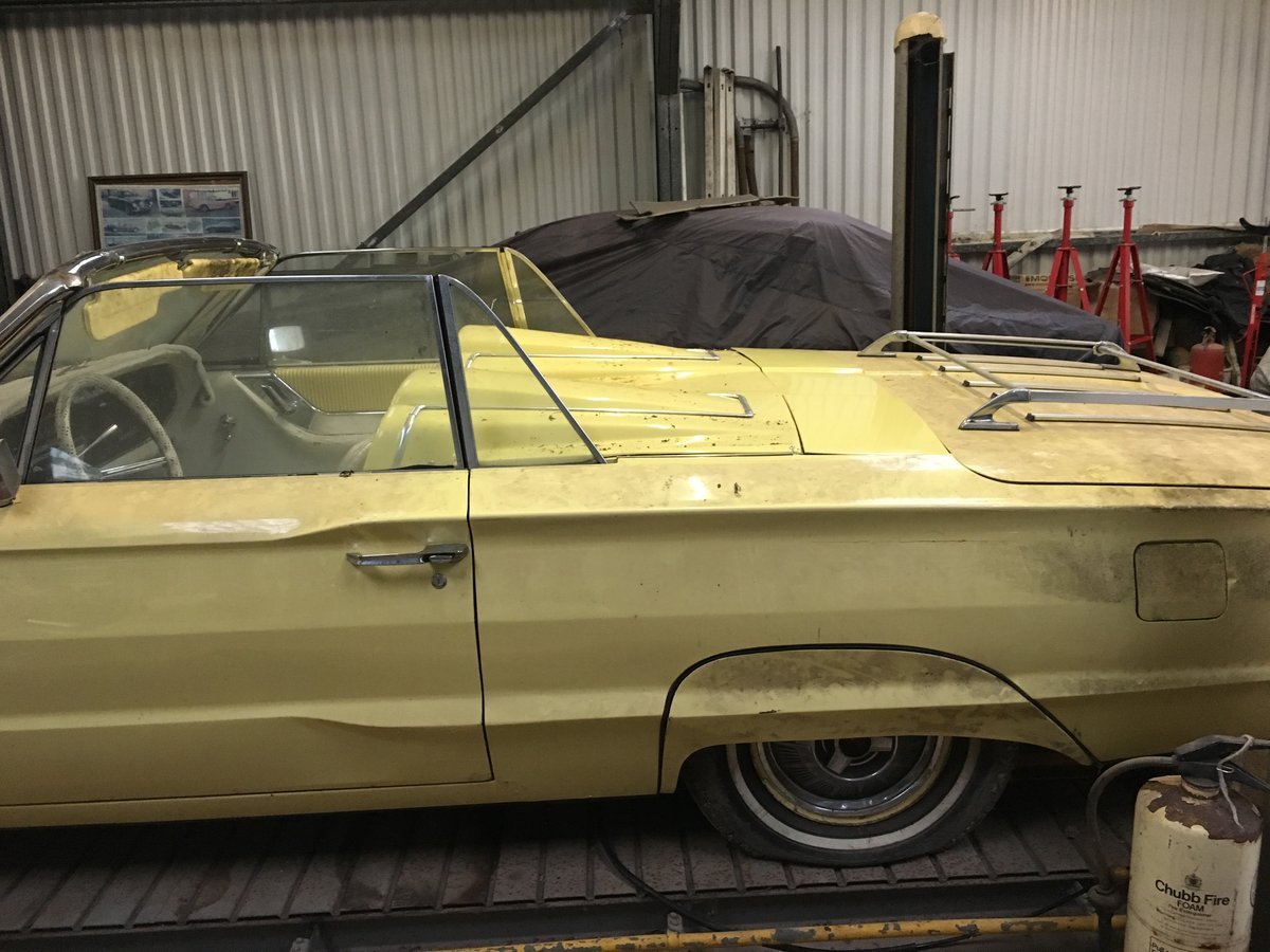 1964 ford thunderbird 390 convertible barn stored. For Sale (picture 4 of 6)