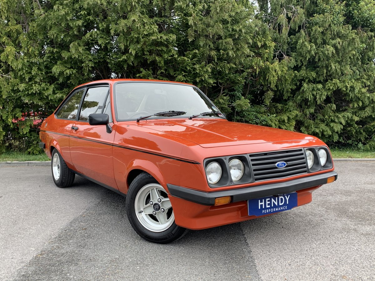 1980 MK2 RS2000 Escort Custom  SOLD (picture 1 of 6)