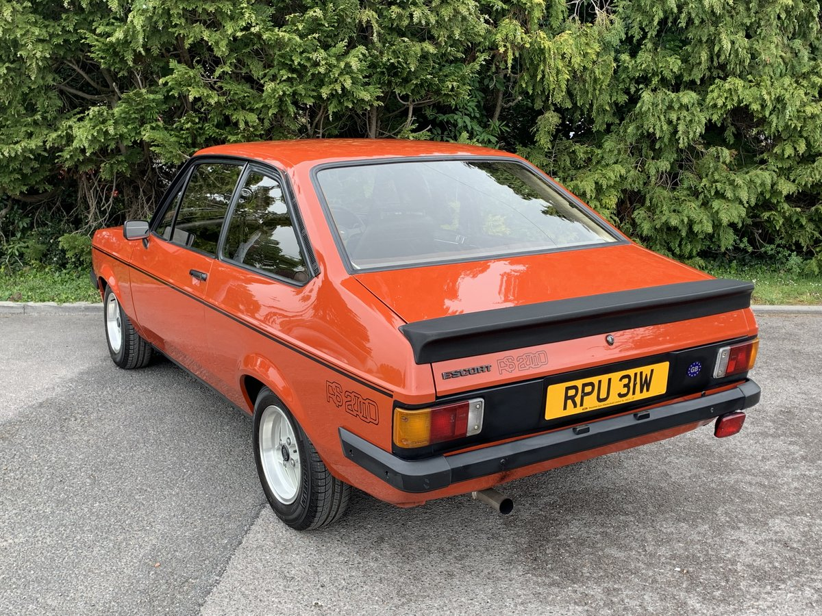 1980 MK2 RS2000 Escort Custom  SOLD (picture 3 of 6)