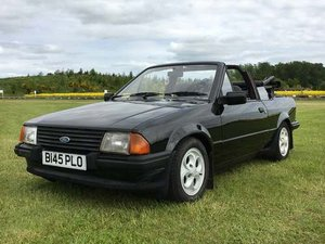 1985 Ford Escort 1.6 Cabriolet at Morris Leslie Auction 25th May For Sale by Auction