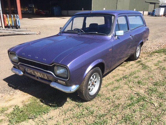 Ford And Ford Auction >> 1971 Ford Escort 1300 Xl Estate At Morris Leslie Auction
