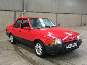 1989 Ford Orion Ghia Injection at Morris Leslie Auction 17th Aug For Sale by Auction