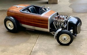 1932 Ford Roadster Special = Custom 1 off Woodie $39.5k For Sale