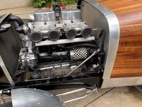 1932 Ford Roadster Special = Custom 1 off Woodie $39.5k For Sale (picture 2 of 6)