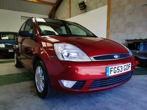 2003 Ford Fiesta Ghia 1.4 + 88k + Great History + Low Insurance + For Sale