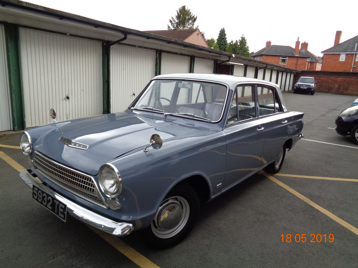 1962 Ford Cortina mk1 1200 Delux For Sale (picture 1 of 6)
