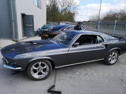 Ford mustang 1969 fastback mach1 m code SOLD (picture 2 of 6)