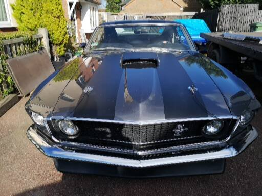 Ford mustang 1969 fastback mach1 m code SOLD (picture 3 of 6)
