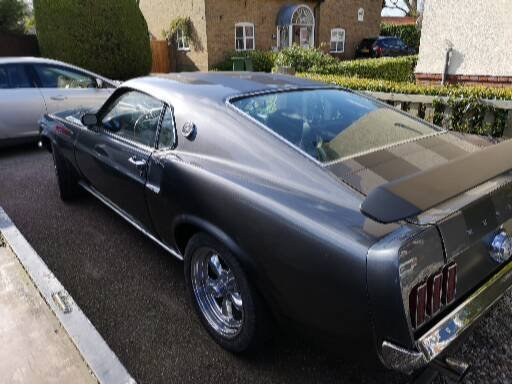 Ford mustang 1969 fastback mach1 m code SOLD (picture 6 of 6)