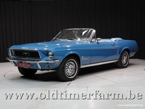 1968 Ford Mustang Cabriolet V8 '68 For Sale