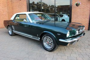 1966 Ford Mustang 302 GT Hardtop Coupe. For Sale