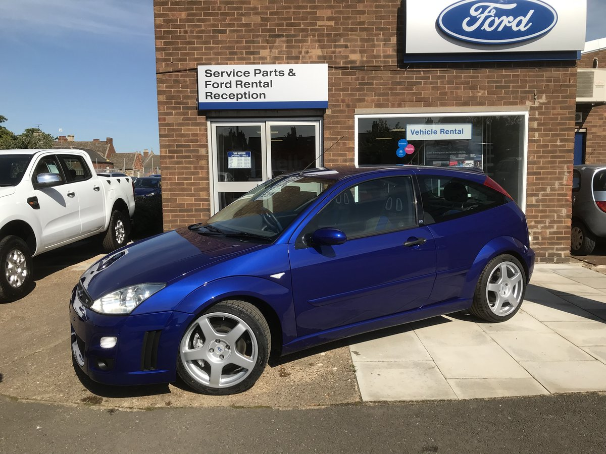 Ford Focus RS MK1 2003 For Sale (picture 1 of 5)