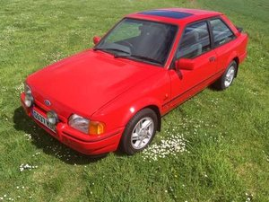 1989 Ford Escort XR3i Injection at Morris Leslie Auction 25th May For Sale by Auction