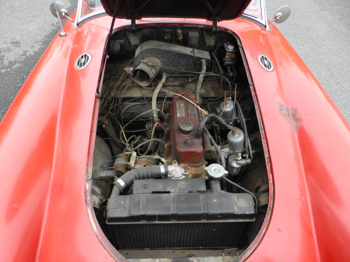 1957 MG A 1500 Roadster Runs Drives Needs Restoration - For Sale (picture 6 of 6)
