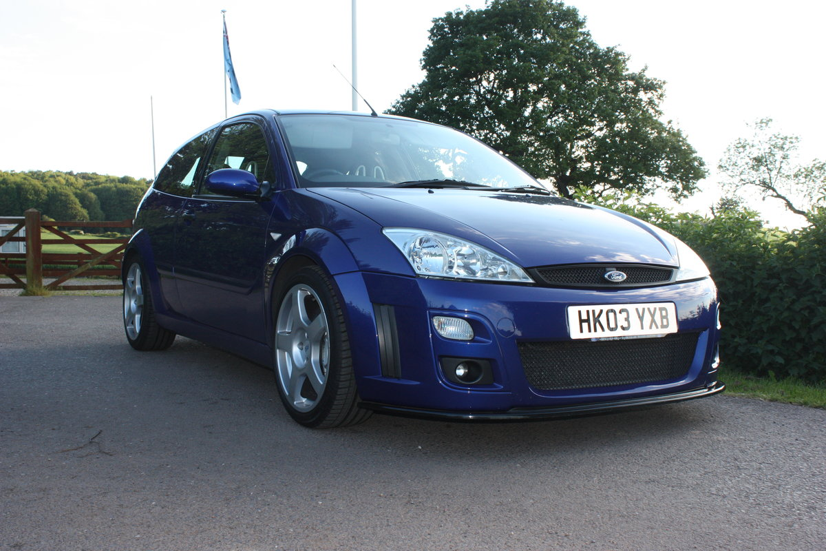 2003 Ford Focus Rs mk1 Phase 2 For Sale (picture 1 of 6)