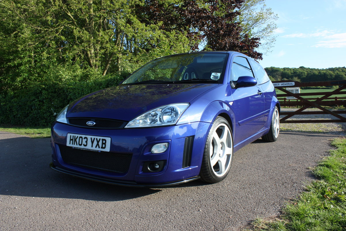 2003 Ford Focus Rs mk1 Phase 2 For Sale (picture 4 of 6)