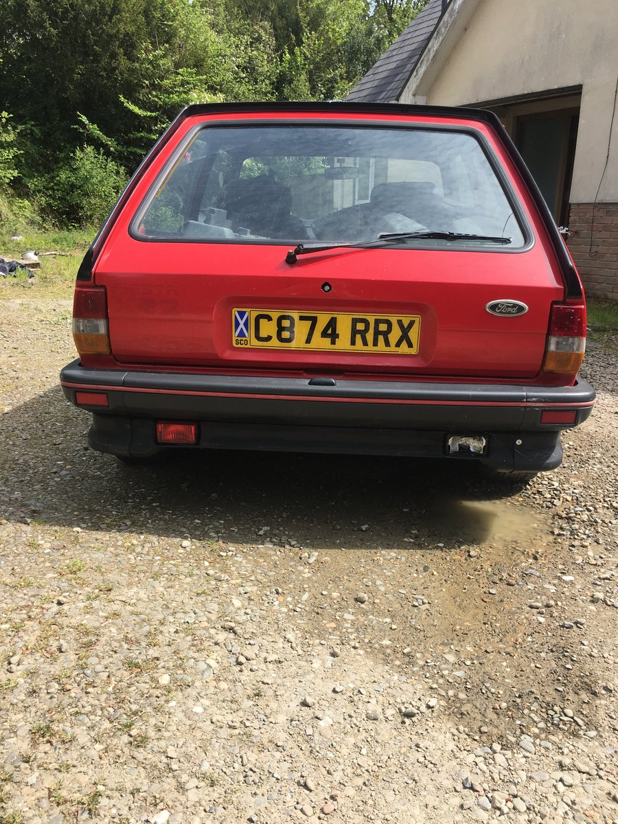 MK2 XR2 1986 C reg 90,000 miles For Sale (picture 3 of 4)