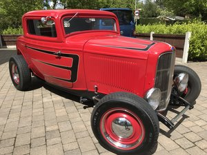 Hot Rod 1932 Ford Model B Deuce Coupe For Sale