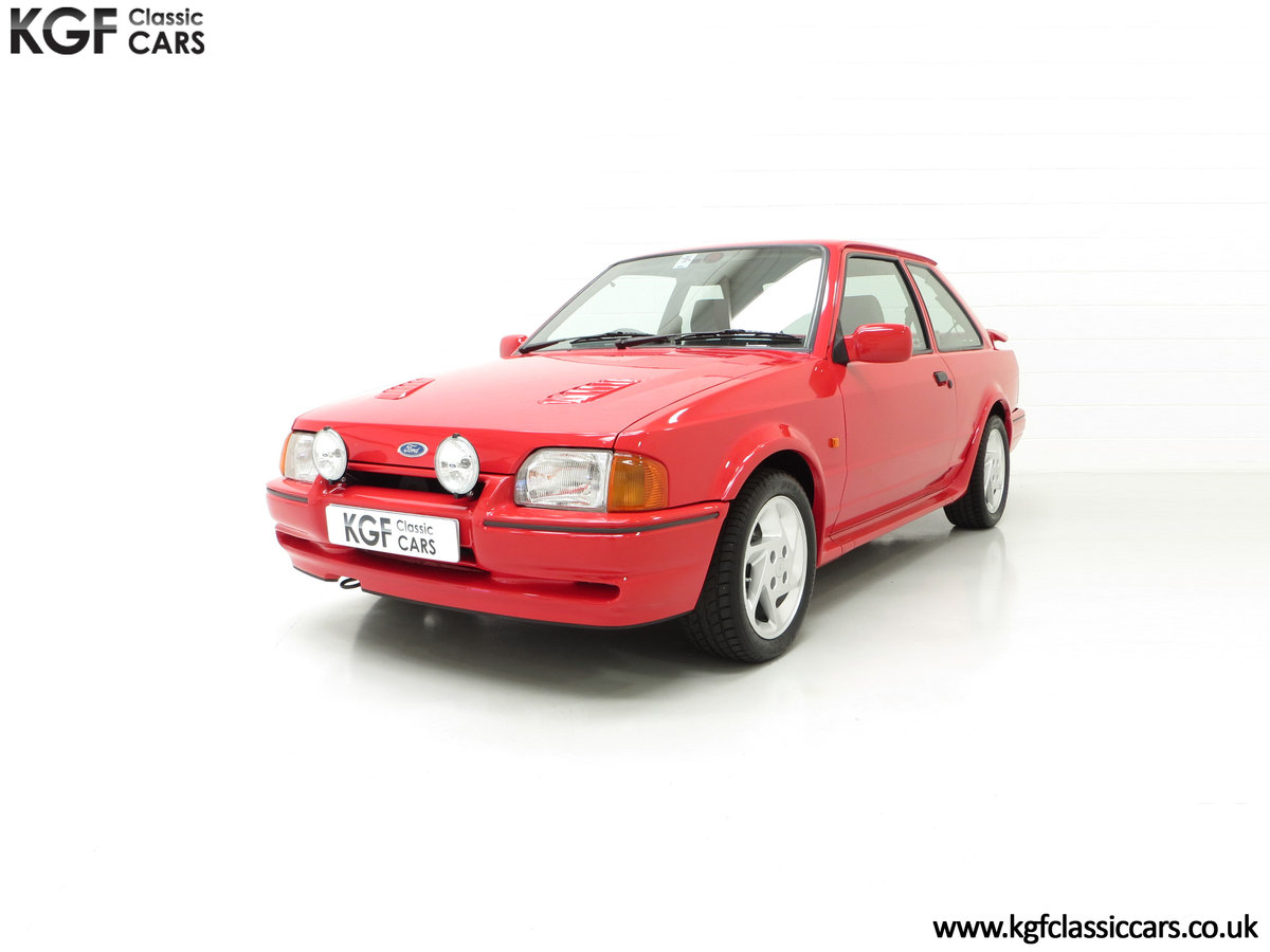 1989 A Desirable 90 Spec Ford Escort RS Turbo with Only Two Owner SOLD (picture 2 of 6)