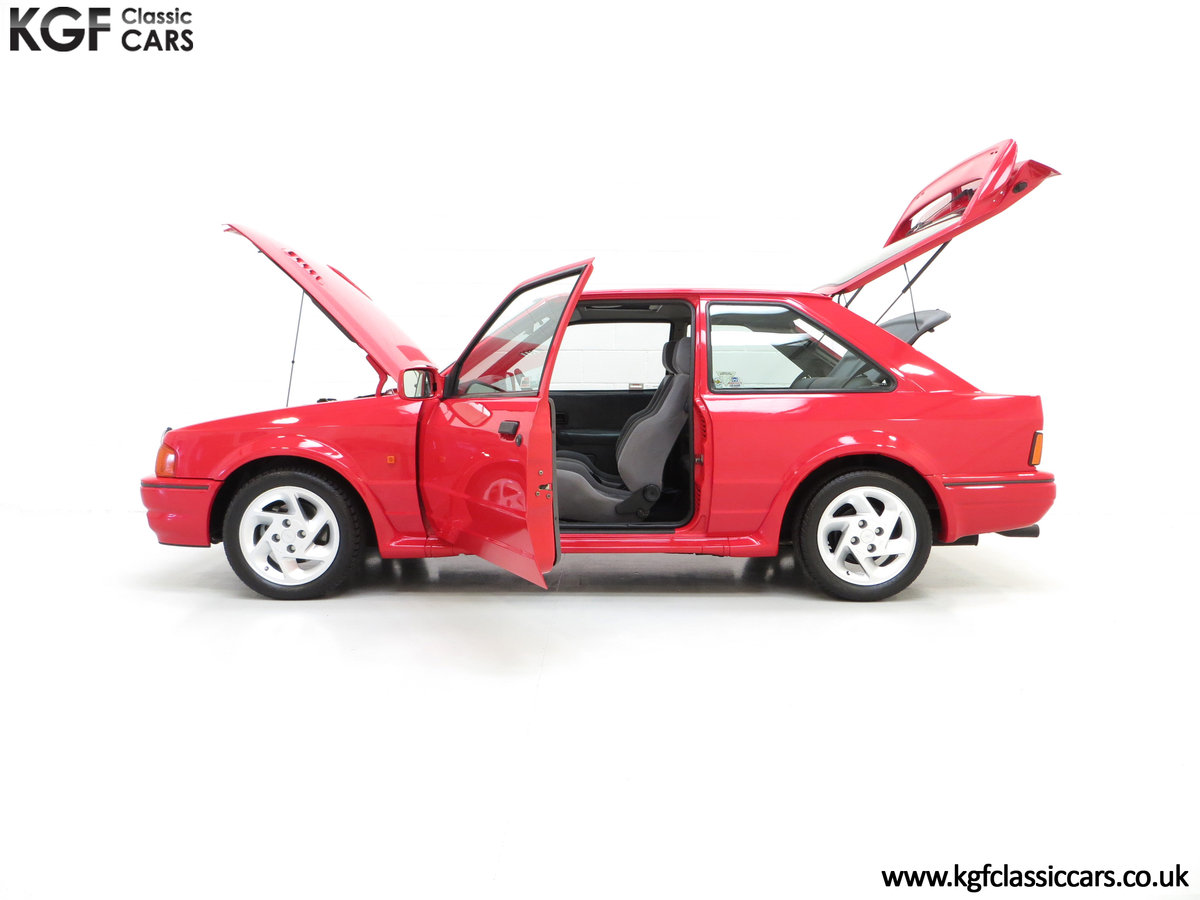 1989 A Desirable 90 Spec Ford Escort RS Turbo with Only Two Owner SOLD (picture 3 of 6)