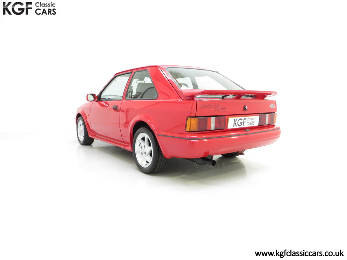 1989 A Desirable 90 Spec Ford Escort RS Turbo with Only Two Owner SOLD (picture 4 of 6)