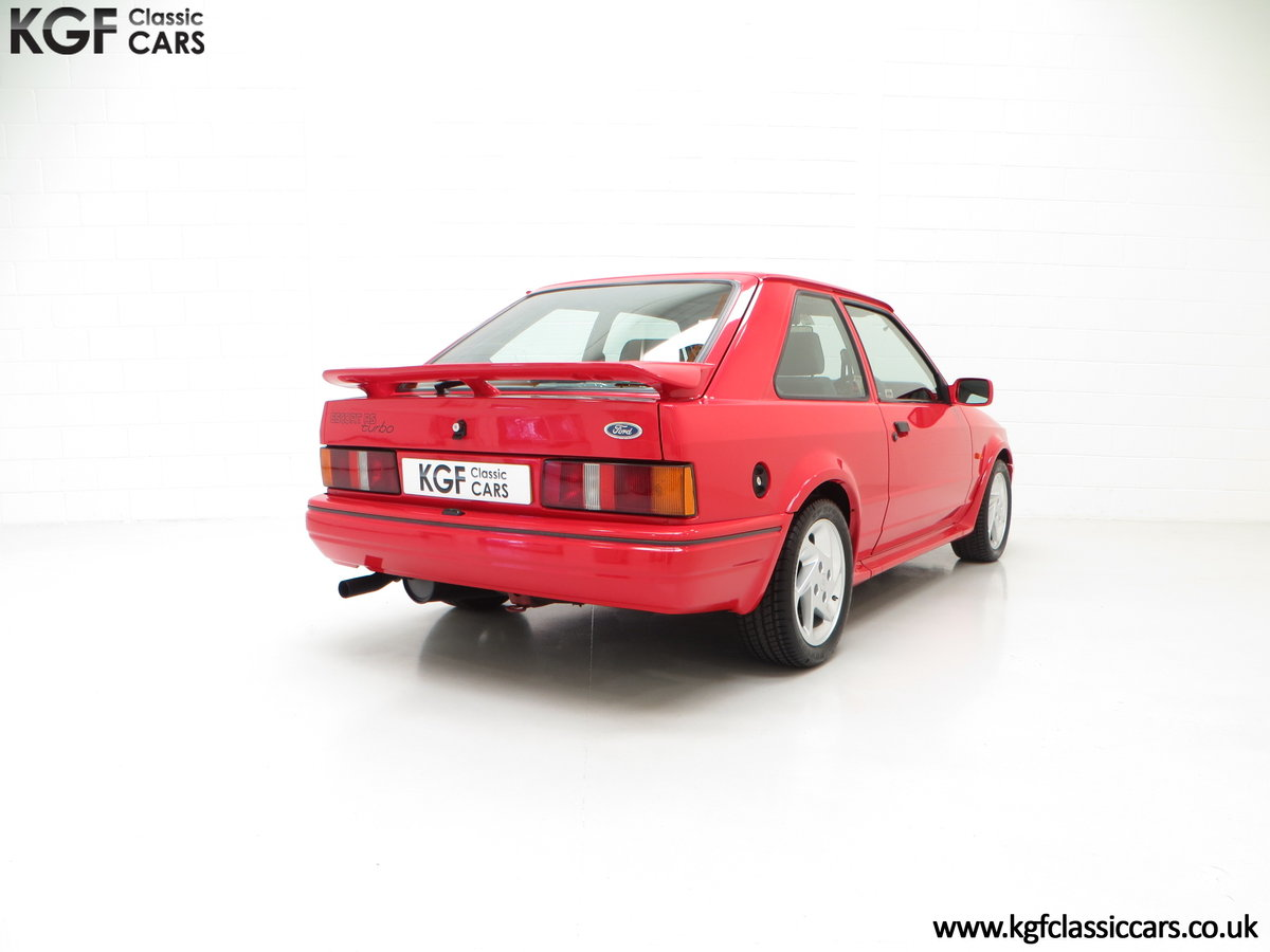 1989 A Desirable 90 Spec Ford Escort RS Turbo with Only Two Owner SOLD (picture 5 of 6)
