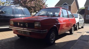 1978 Completely original Ford Fiesta MK1 For Sale