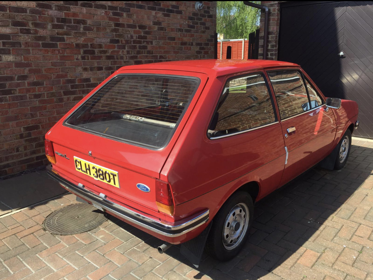 1978 Completely original Ford Fiesta MK1 For Sale (picture 2 of 2)