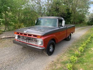 1965 Ford F100 352 V8 SWB Fresh Custom Paint Job For Sale