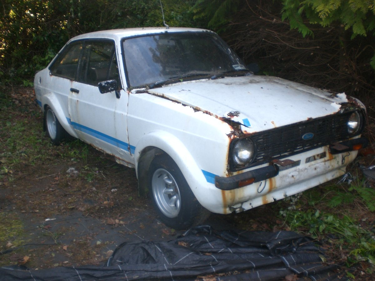 Ford Escort Mark 2 RS 1800 Replica 1979 Project  For Sale (picture 1 of 6)