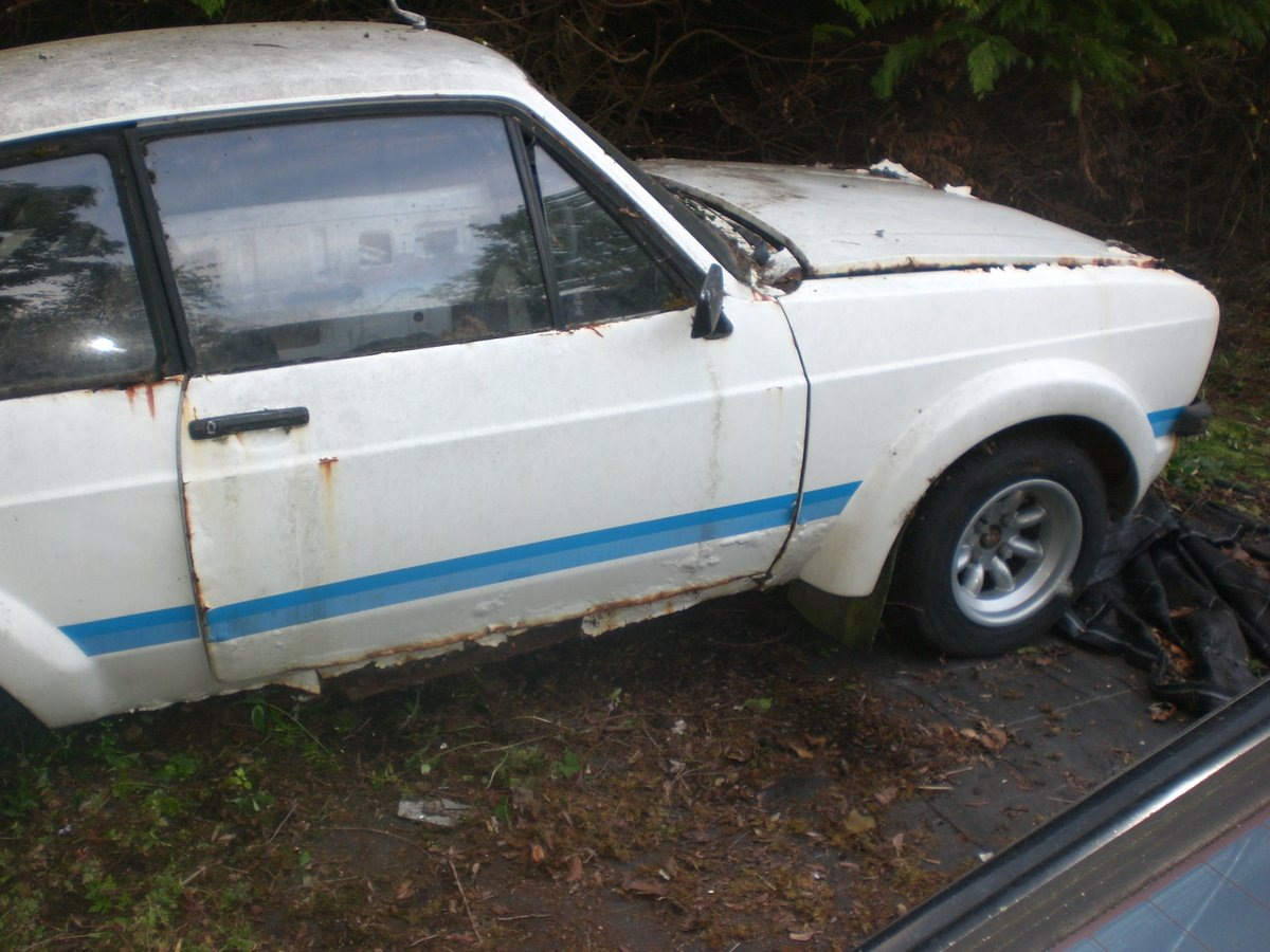 Ford Escort Mark 2 RS 1800 Replica 1979 Project  For Sale (picture 2 of 6)