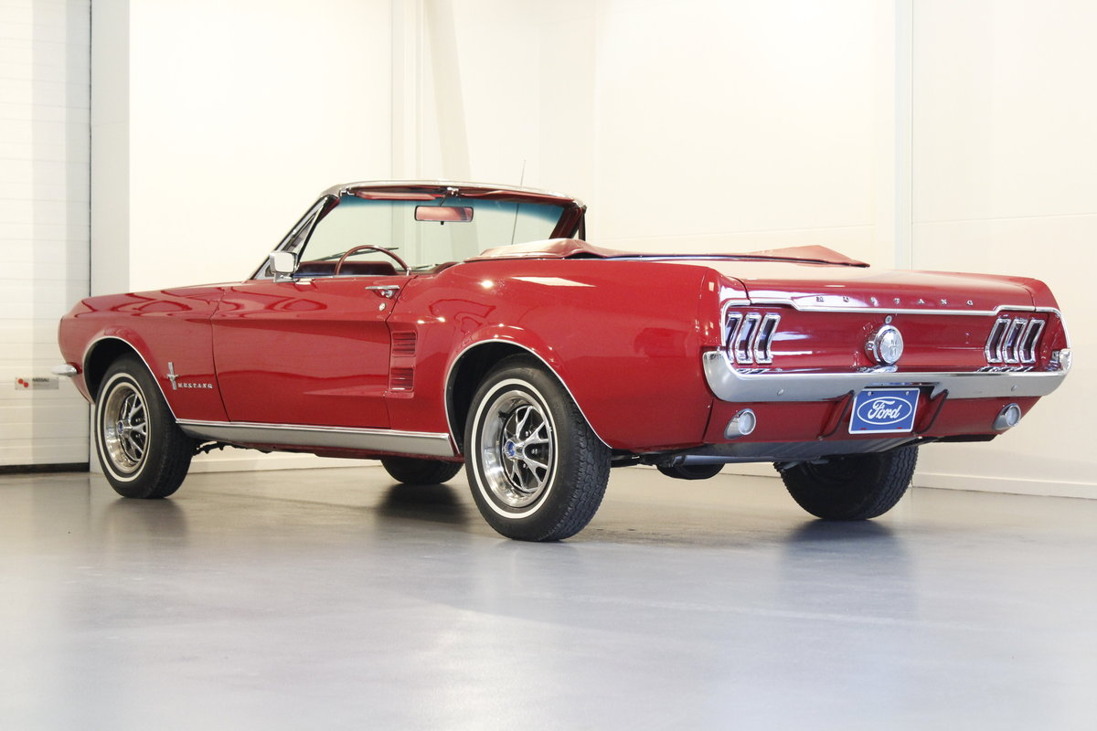 1967 Ford Mustang 4.7 289 Cui Convertible For Sale (picture 2 of 6)