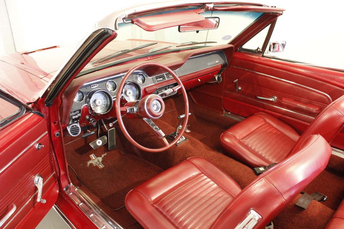1967 Ford Mustang 4.7 289 Cui Convertible For Sale (picture 4 of 6)