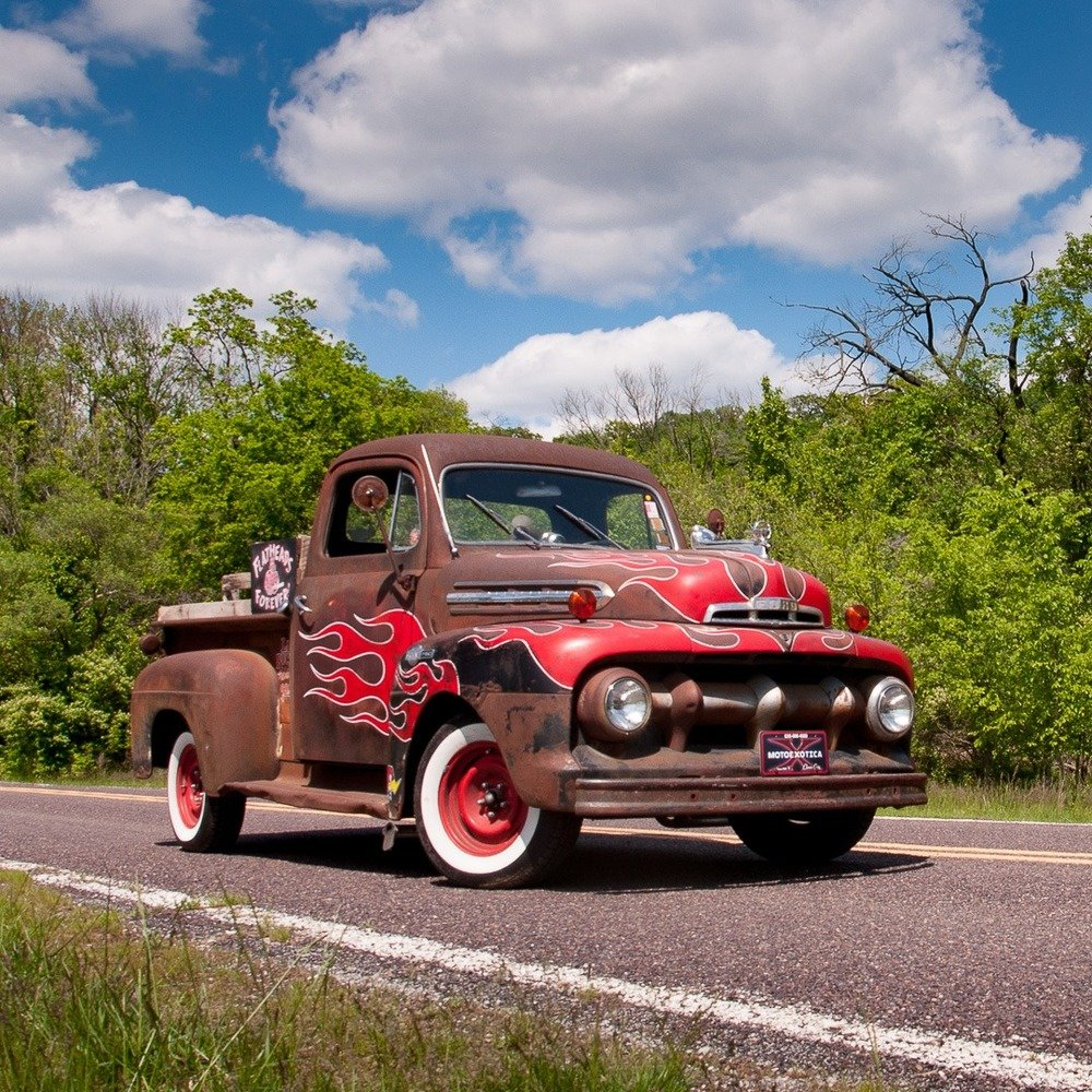 1951 Ford F-1 Pickup Truck = Custom Restomod FlatHead V-8 For Sale (picture 2 of 5)