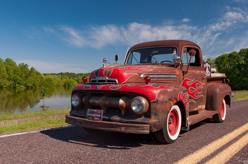 1951 Ford F-1 Pickup Truck = Custom Restomod FlatHead V-8 For Sale (picture 4 of 5)