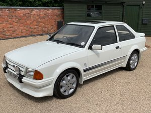 1985 Ford Escort RS Turbo S1 - thousands spent For Sale