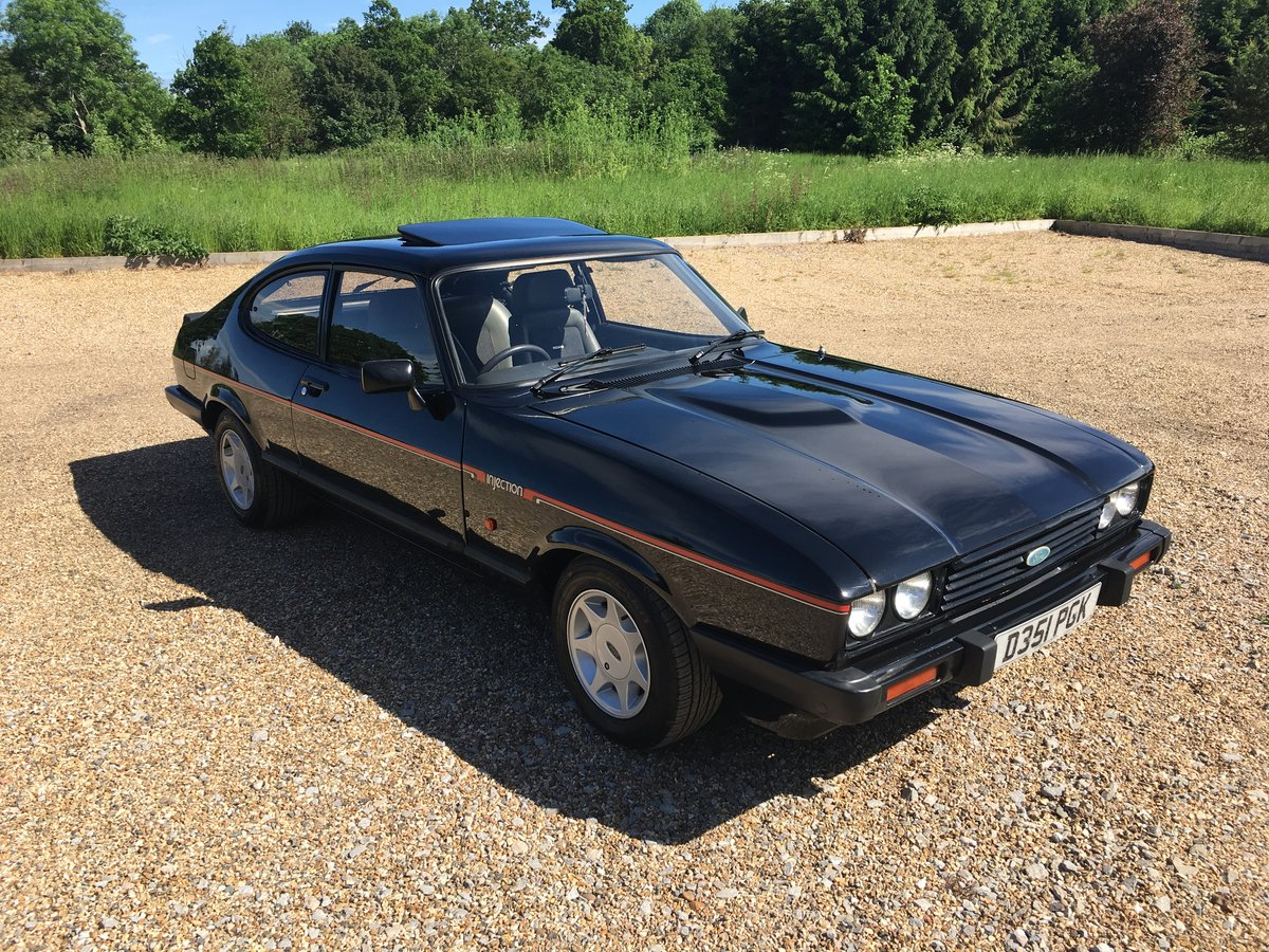 1986 STUNNING CAPRI 2.8 INJECTION SPECIAL For Sale (picture 2 of 6)