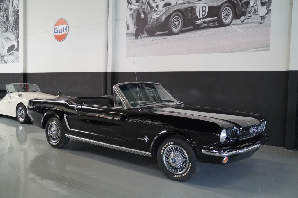 FORD MUSTANG Convertible Triple Black (1965) For Sale (picture 1 of 6)