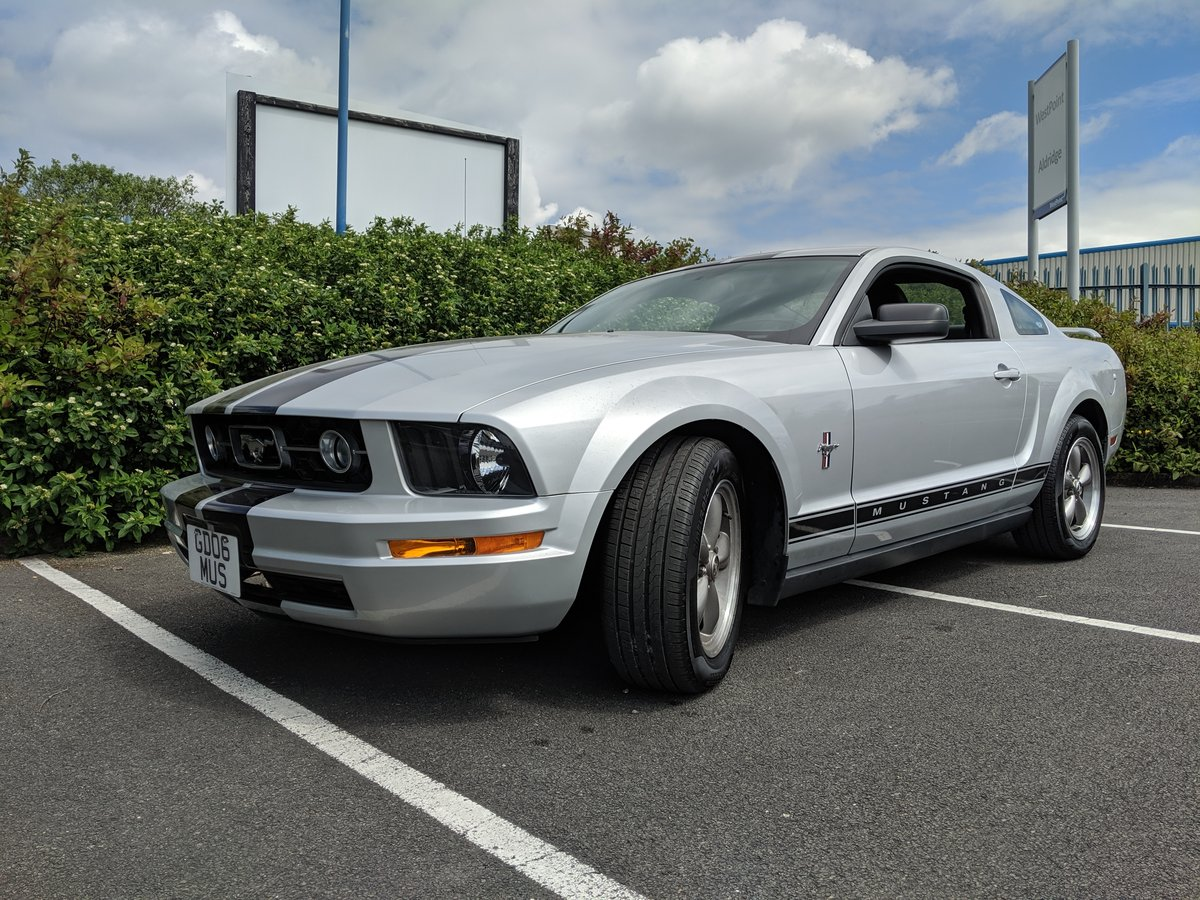 2006 ford mustang 4 0 v6 only 9400 miles for sale car and classic