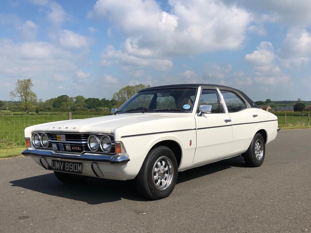 1973 Ford Cortina 2000 GXL MK III SOLD (picture 1 of 6)