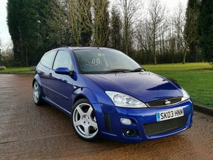 2003 Ford Focus RS - 47k Miles - 2 Owner For Sale