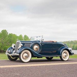 1934 Ford Model 40 Deluxe Roadster = Rare Flathead V-8 $62.9 For Sale