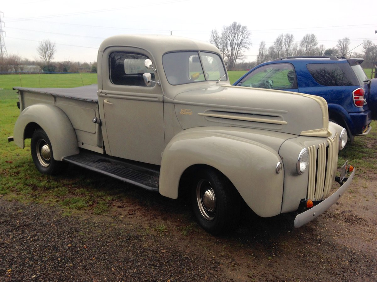 CLASSIC VINTAGE 1946 FORD 69C PICK UP , ORIGINAL For Sale (picture 2 of 6)