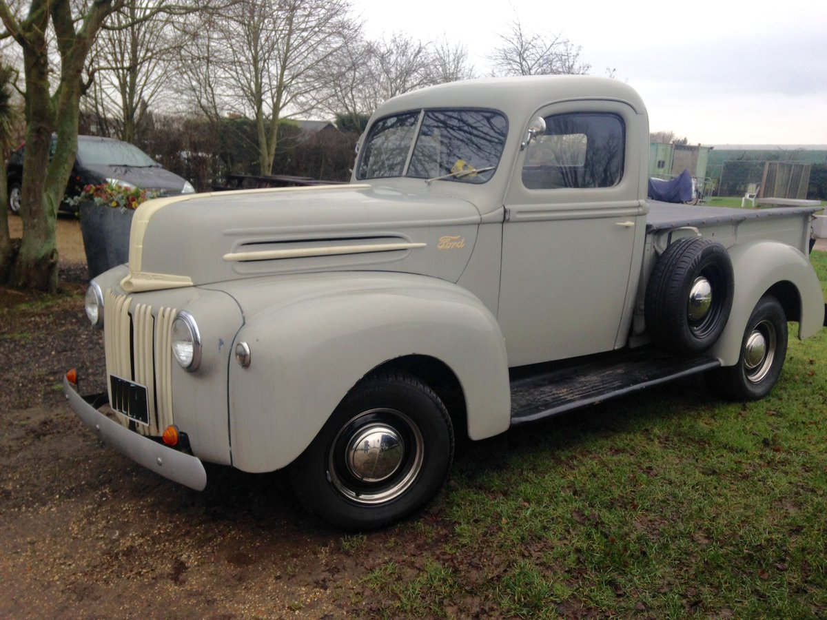 CLASSIC VINTAGE 1946 FORD 69C PICK UP , ORIGINAL For Sale (picture 3 of 6)