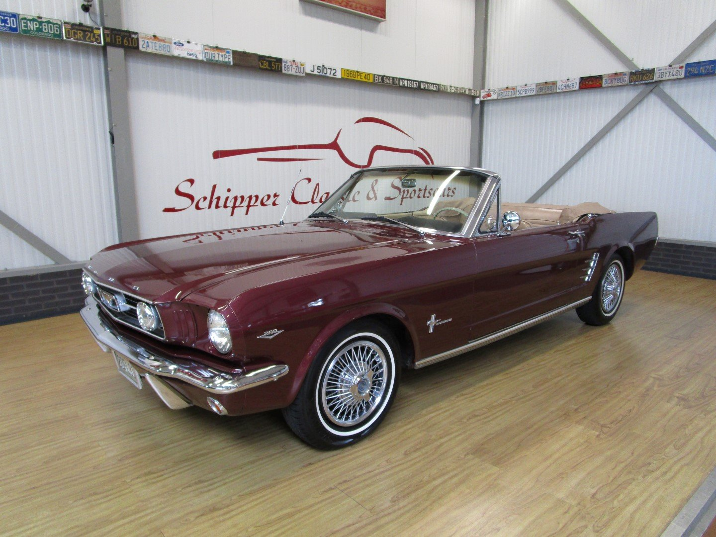 1966 Ford Mustang 289 V8 Cabrio For Sale (picture 1 of 6)