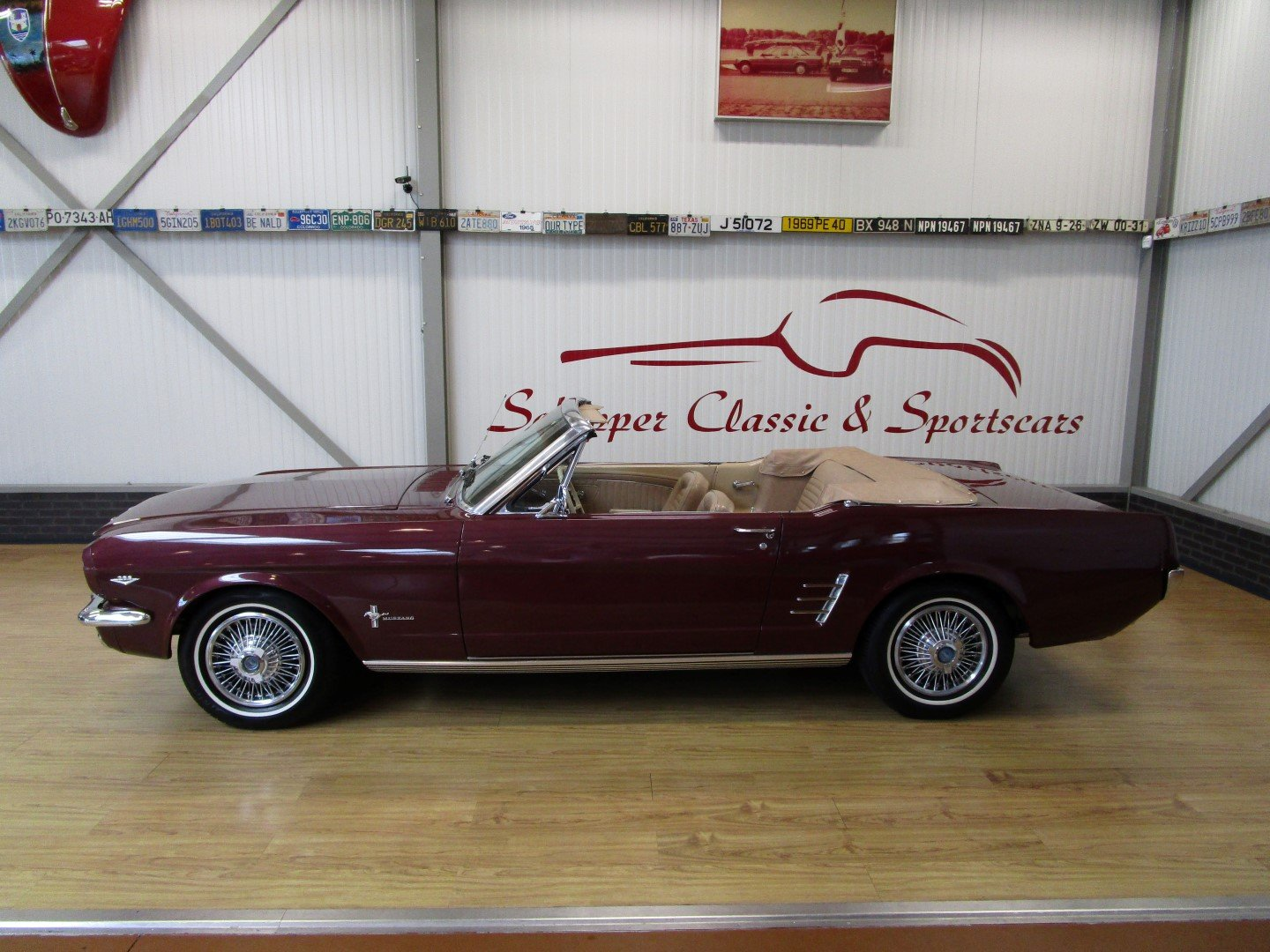 1966 Ford Mustang 289 V8 Cabrio For Sale (picture 2 of 6)